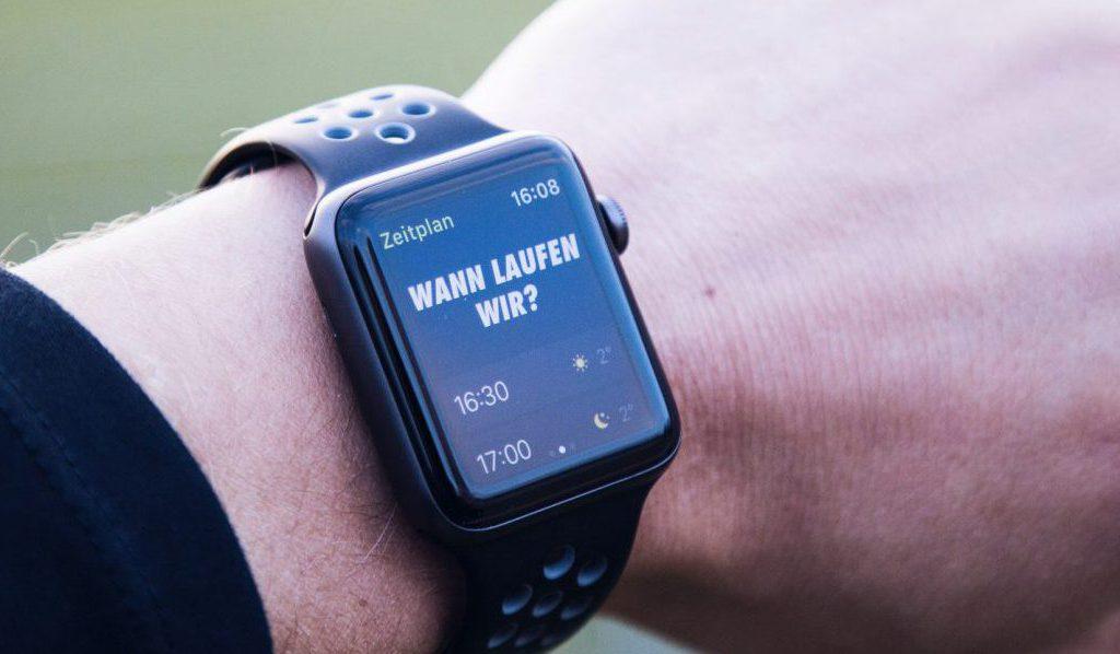 Feedback zur Apple Watch Nike+